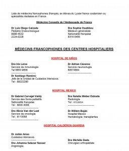 LISTE DE MEDECINS FRANCOPHONES colonnes der_Page_1
